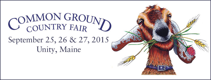 Heading to Common Ground Fair 2015