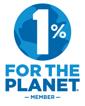 We have joined 1% for the Planet!